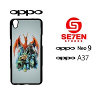 Custom Casing HP Oppo Neo 9 (A37) pokemon wallpapers 6 Hardcase Cover
