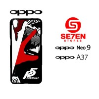 Custom Casing HP Oppo Neo 9 (A37) Persona5 Hardcase Cover