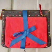 dompet / pouch / wrislet original Fossil keely double pouch