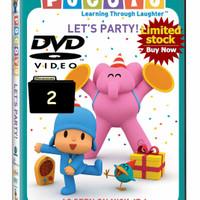 Video Film Kartun Edukasi Anak Pocoyo 49 Episode Season 2 DVD Video