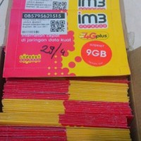 Perdana Internet Indosat Kuota 9GB Disemua jaringan 3G&4G 24jam