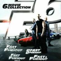 Fast & Furious 1-6 DVD Box Set (Original DVD - Lisensi Indonesia)