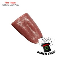 Fake Tongue   Alat Sulap   Lidah Palsu   Horror  Ekstrim   Dimen Shop