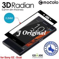 MOCOLO Tempered Glass 3D Edge Sony Xperia XZ Full Curved Premium