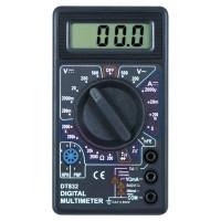 Pocket Size Digital Multimeter - DT830B - Black