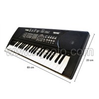 Alat Musik Keyboard Techno TechnoT-5000 Hitam