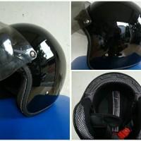 Helm Retro Bogo Glossy (kaca USA)