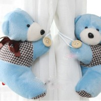 holder pengikat gorden gordyn gordin curtain teddy bear isi 2 E