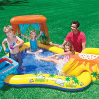 Kolam Renang Dinasaurus Kids Play Center Swimming Pool - INTEX #57444