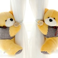holder pengikat gorden gordyn gordin curtain teddy bear isi 2 B