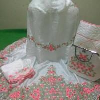 Mukena Sutra Jasmine Bordir Tasikmalaya