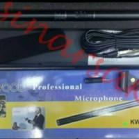 Harga mic kenwood kw 321 shotgun telescopic microphone | antitipu.com