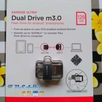 Jual Sandisk OTG 128gb m3.0 Ori Flashdisk Dual Usb On The Go 128 Gb m 3.0 Murah