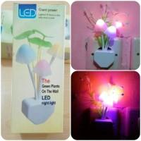 Jual Lampu Tidur LED Bentuk Jamur Mini Avatar Unik Murah