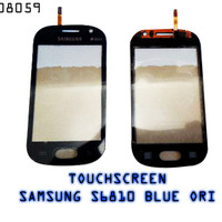 [008059] TOUCHSCREEN SAMSUNG GALAXY FAME / S6810 BLUE ORG