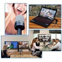 Sale Multi Mic Microphone Rekaman Latihan Vokal & Instrumen Video Chat