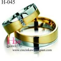 Cincin Kawin Cincin Tunangan Perak Couple Berkualitas Jogja Grosir