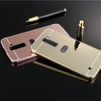 Hardcase Aluminium Kuat Bumper Mirror Hard Case Cover Casing LG K10