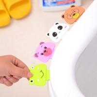 Toilet Lid Handle Pengangkat Dudukan Closet Toilet Seat Kartun - X229
