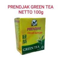 PRENDJAK GREEN TEA / TEH HIJAU 50G BOX