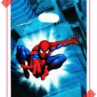 tas tengteng goodybag goodie bag plastik ulang tahun gambar spiderman