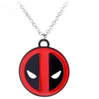 Jual Deadpool Logo Marvel Necklace / Kalung Deadpool Murah