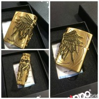 Original Zippo Amazon 3D Gold
