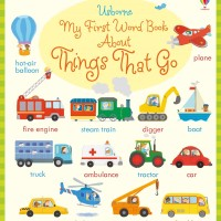 Usborne - My first word book about things that go