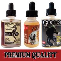 Jual 30ml Premium E-juice Vapor E-Liquid Vape Rokok Elektrik ejuice eliquid Murah