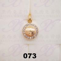 Yaxiya (anting gelang kalung) liontin perhiasan imitasi gold 18k 073