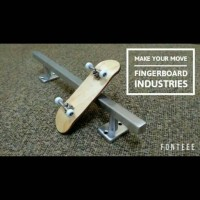 Jual Fingerboard Handrail / Rail Obstacle Ramps Finger Board Murah