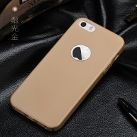 Casing Cover iPhone 5 5s SE Baby Skin Ultra Thin Hard Case Gold 1082