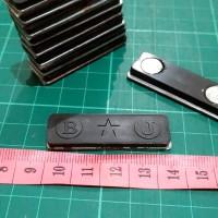 MAGNET NAME TAG NAMA DADA ID CARD BJ Bintang 1 SET 45mm | 4,5cm