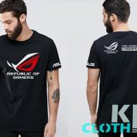 Tshirt / Kaos / Baju Game ASUS ROG #premium