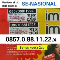 harga Kartu Perdana Internet Nocan Nomor Cantik Indosat Im3 Bisa Utk Couple Tokopedia.com