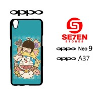 Custom Casing HP Oppo Neo 9 (A37) doraemon Hardcase Cover
