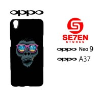 Custom Casing HP Oppo Neo 9 (A37) monkey Hardcase Cover