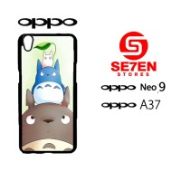 Custom Casing HP Oppo Neo 9 (A37) Totoro Hardcase Cover