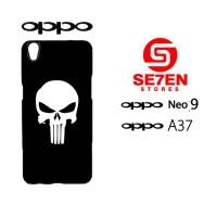 Custom Casing HP Oppo Neo 9 (A37) Skull Hardcase Cover