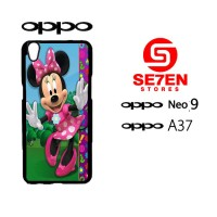 Custom Casing HP Oppo Neo 9 (A37) minnie 5 Hardcase Cover