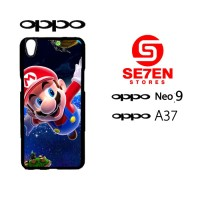 Custom Casing HP Oppo Neo 9 (A37) Super Mario Wallpaper Hardcase Cover