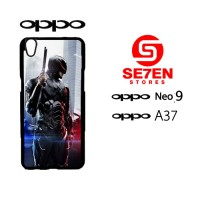 Custom Casing HP Oppo Neo 9 (A37) Robocop Hardcase Cover