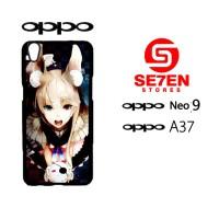 Custom Casing HP Oppo Neo 9 (A37) Anime Wallpaper 90 Hardcase Cover