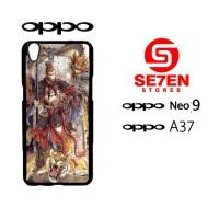 Custom Casing HP Oppo Neo 9 (A37) gokong Hardcase Cover