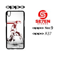 Custom Casing HP Oppo Neo 9 (A37) Robot iPhone 6 Wallpapers Hardcase C
