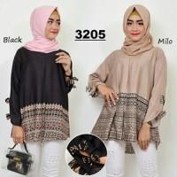 Atasan wanitamuslim blouse jumbo termurah (BT016)