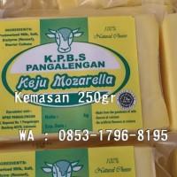 Jual Keju Mozarela, Mozarella, Mozzarella 250gr Bandung Murah