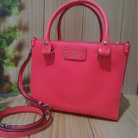 Tas Kate Spade Ks Small Quinn Wellesley Hot Rose Original