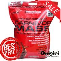 Musclemeds Carnivor Mass 10 lbs | Weight Gainer Tanpa Gula + Kolestrol