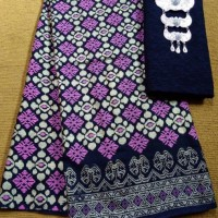 Jual batik prada songket kembang satuan tanpa embos Murah